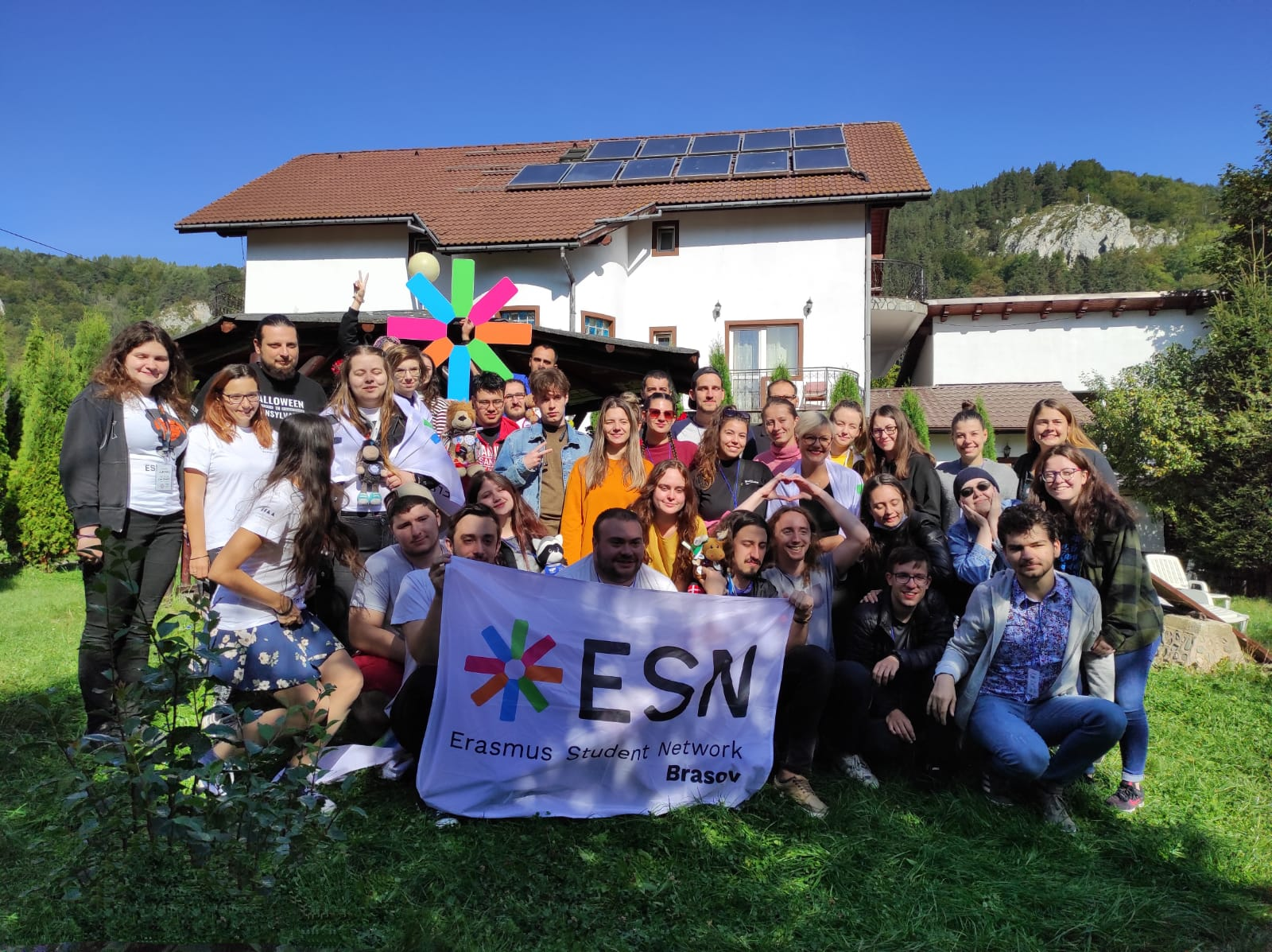 ESN Brasov at a National assembly of ESN Romania